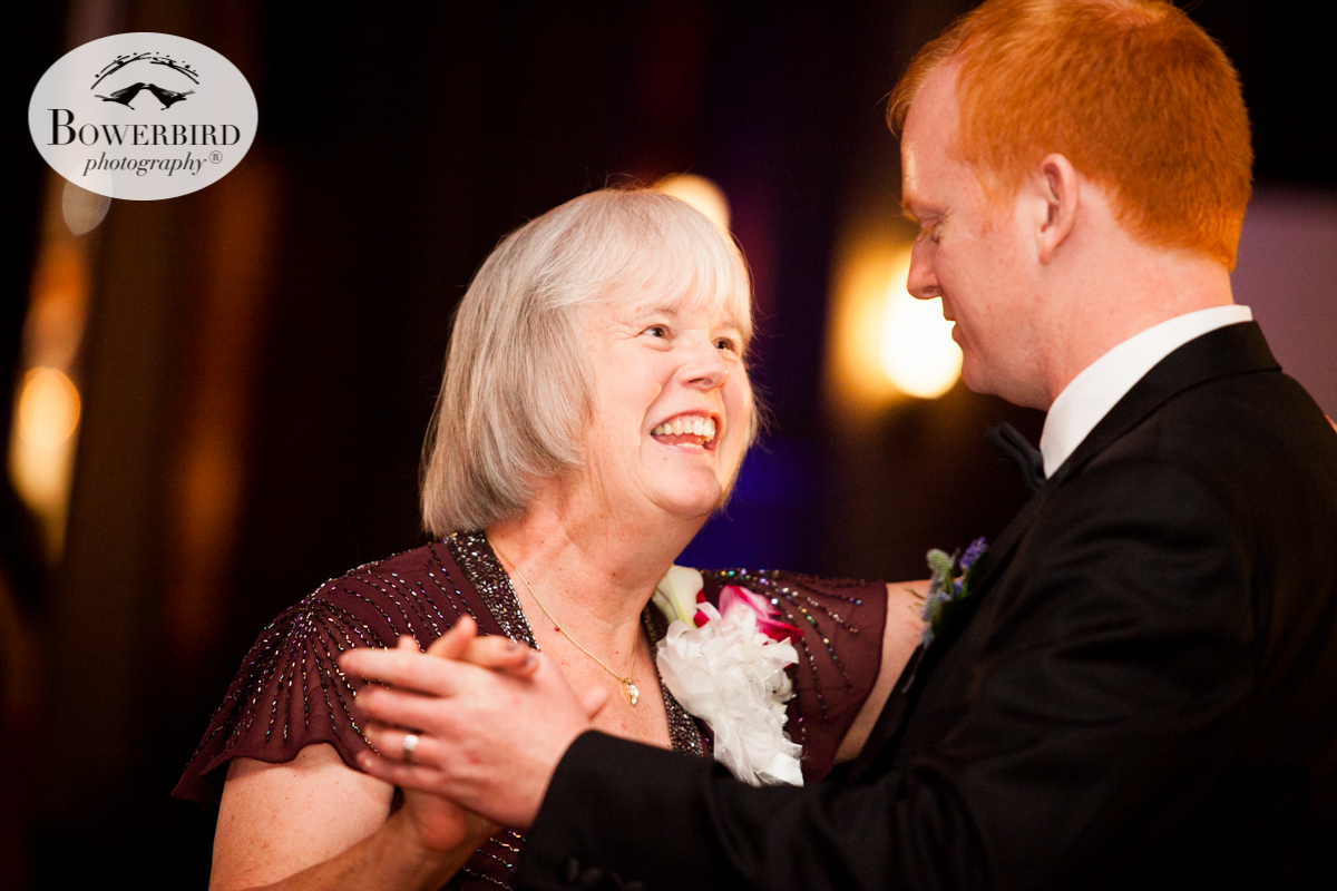 The groom and his mom dance at the Julia Morgan Ballroom. © Bowerbird Photography 2016