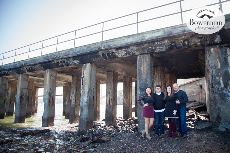 Holiday Family Photo Session at Cavallo Point, Sausalito