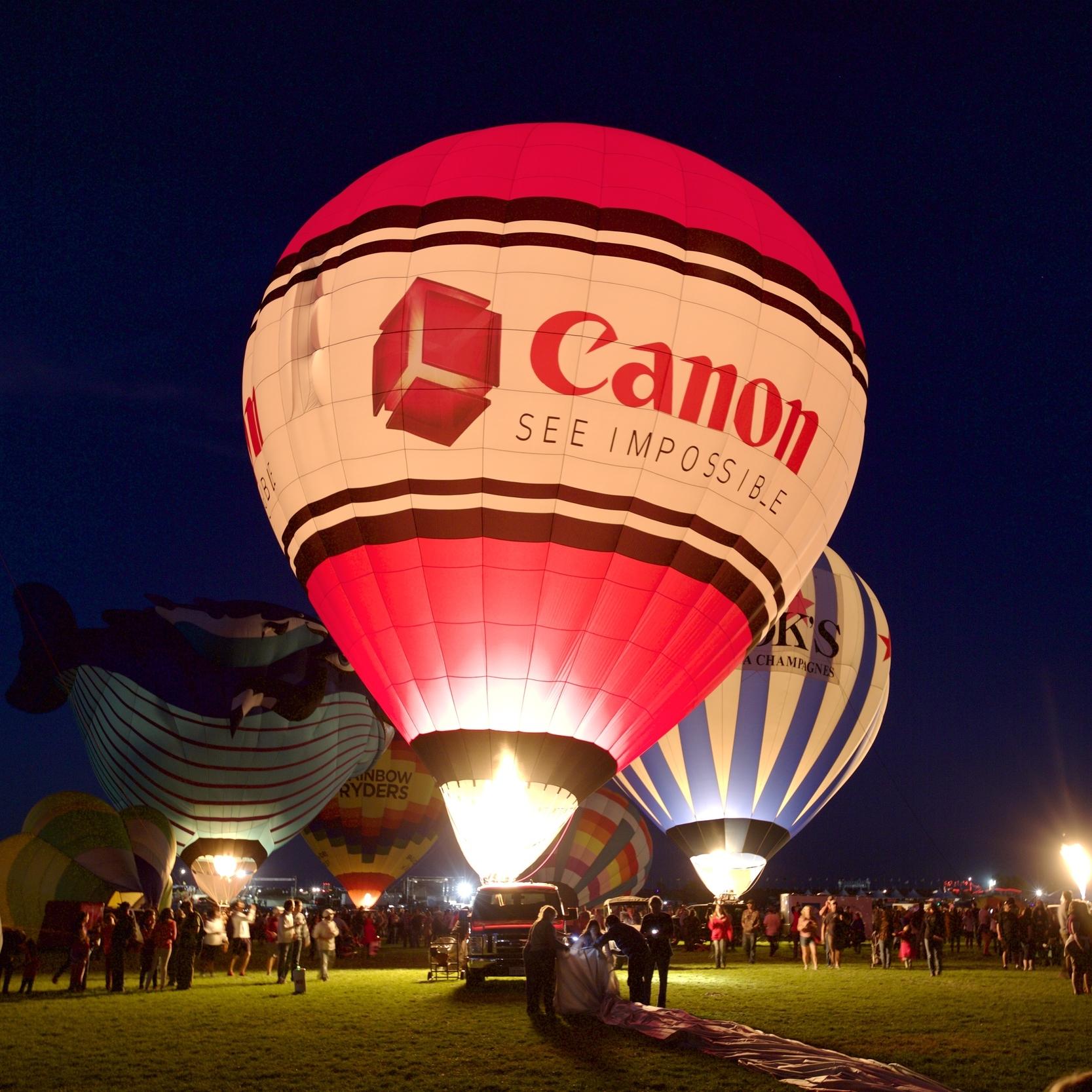 Canon USA - Albuquerque International Balloon Fiesta  Event Management