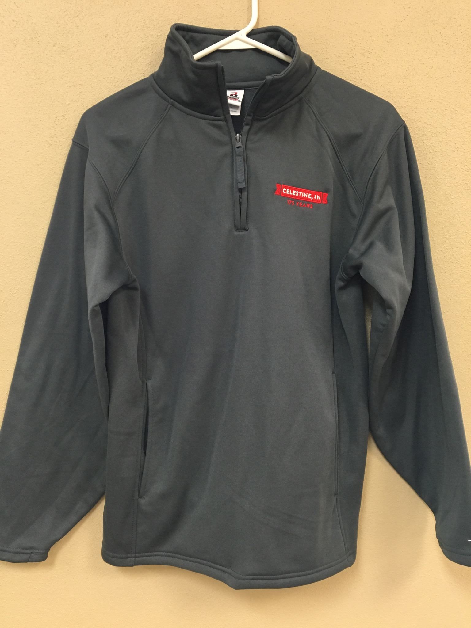 ¼ Zip Pullover Shirts - $30