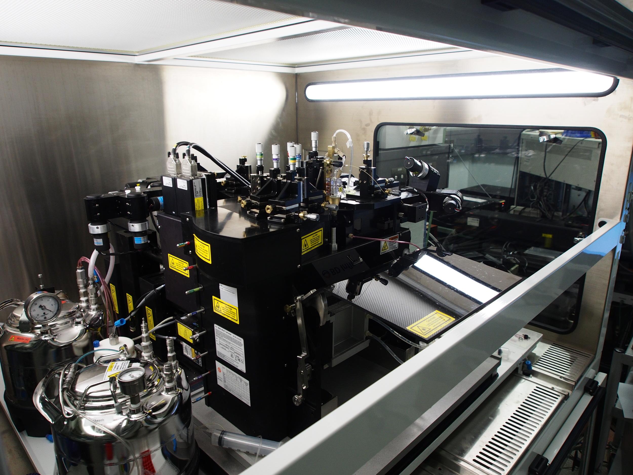 10-laser BD Influx