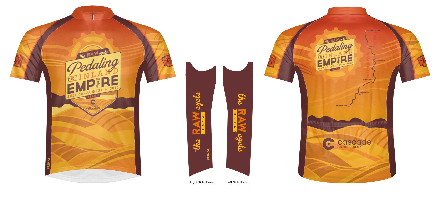 2016 Bike Jersey   Image rendering courtesy of Primal.