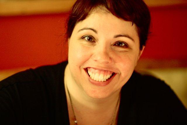 Liz Lamoreux at Argot Studios in New York.