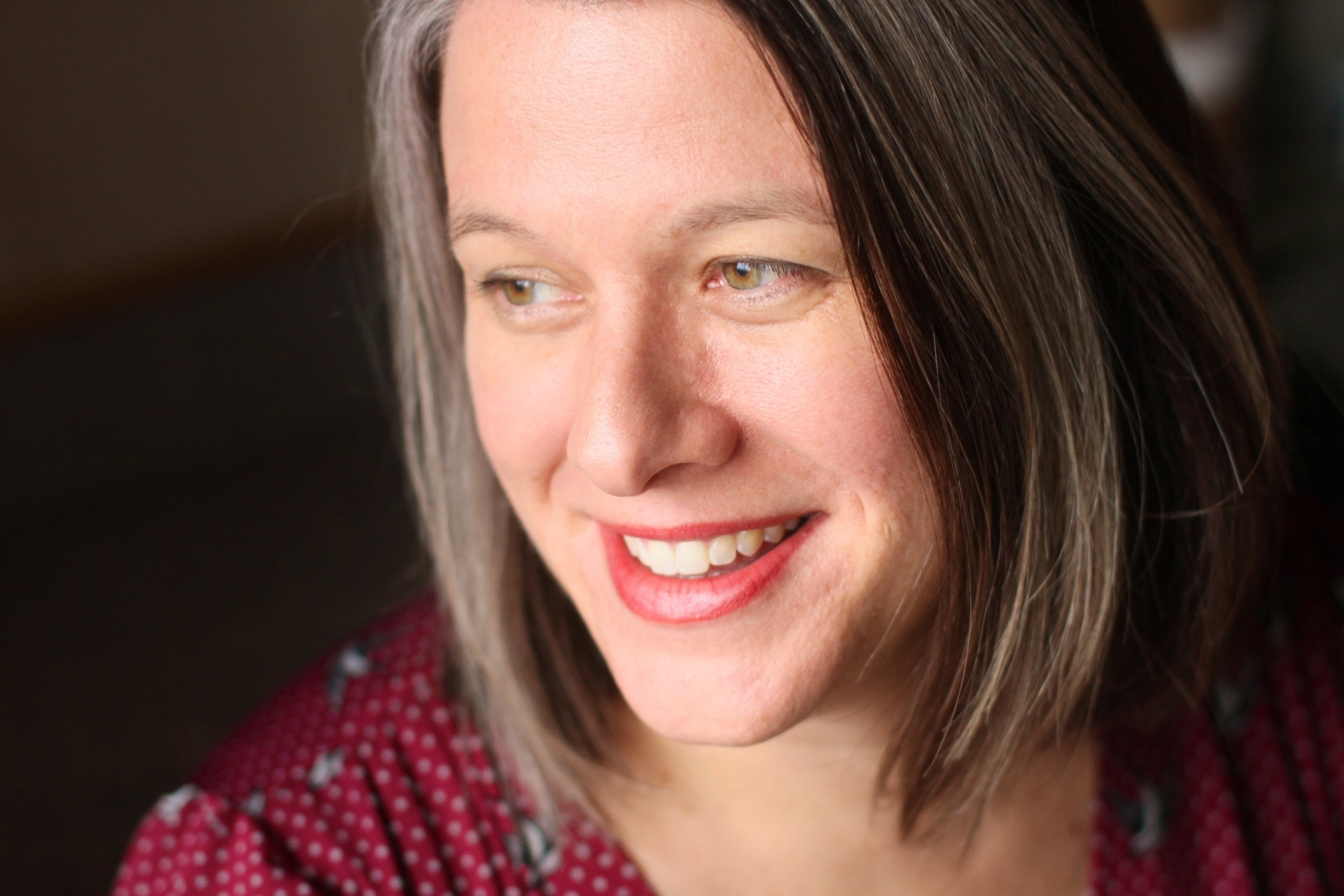 Official Author Photo of Laura Sims by EASEL