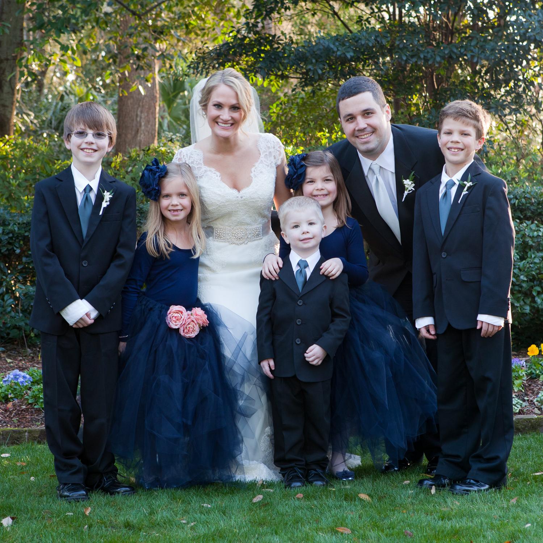 Thomas Bennett House Wedding Party by MCG