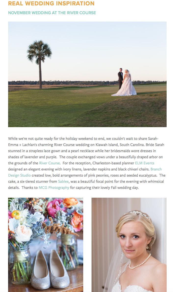 River Course Wedding Blog