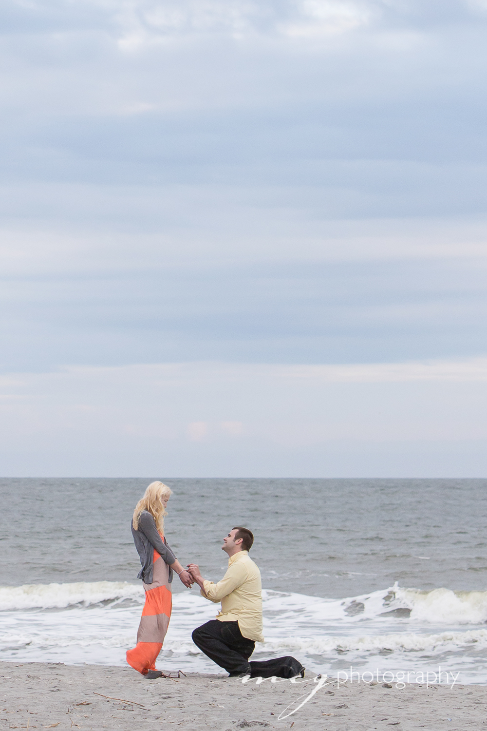 Wedding Proposal Folly Beach