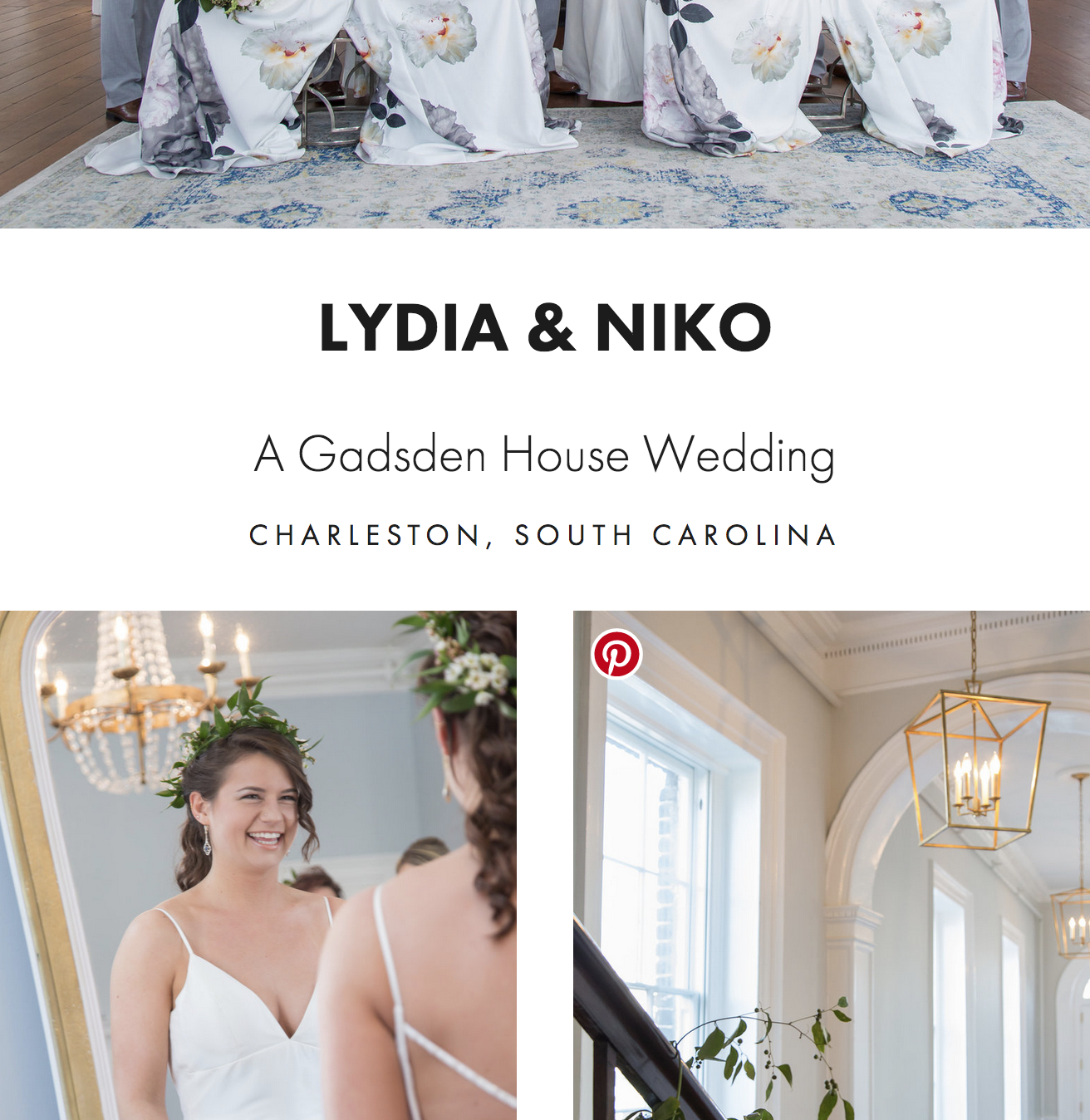 Gadsden House Wedding