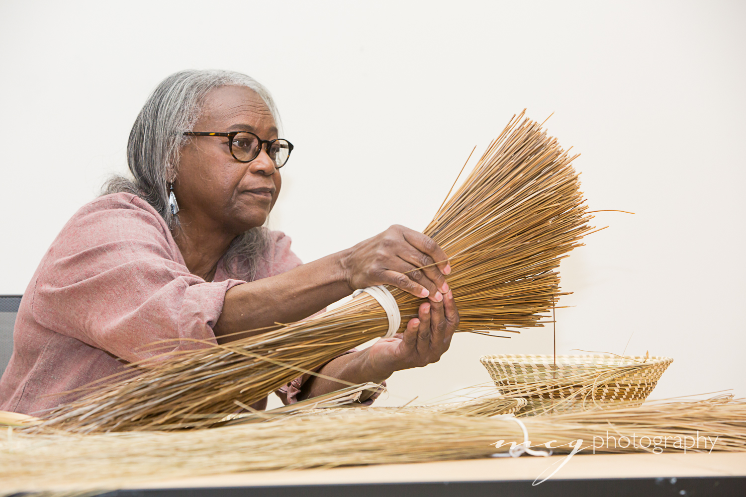 Mary Jackson, Basket Weaver