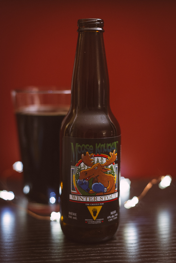 The Grizzly Paw Moose Knuckle Winter Stout