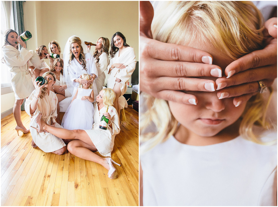 So cute! - Cleveland Wedding Photographer Windows on the River Bridal Party