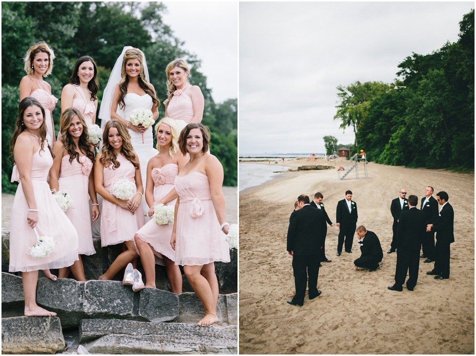 The girls are so cute! Cleveland Wedding Photographer Windows on the River
