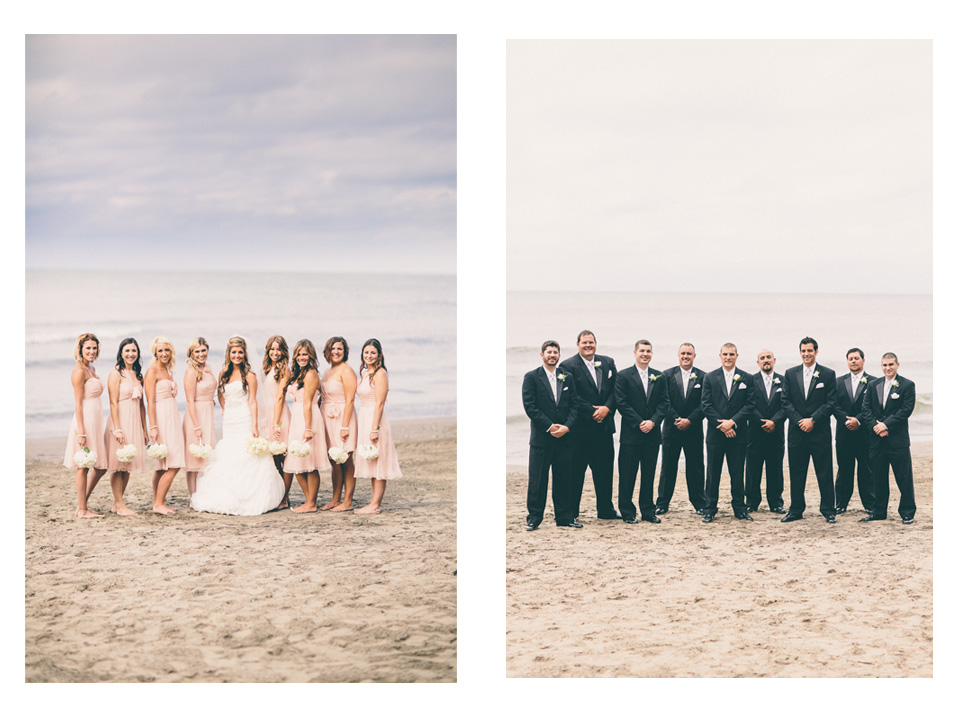 Girls and guys! - Cleveland Wedding Photographer Windows on the River Lake Erie