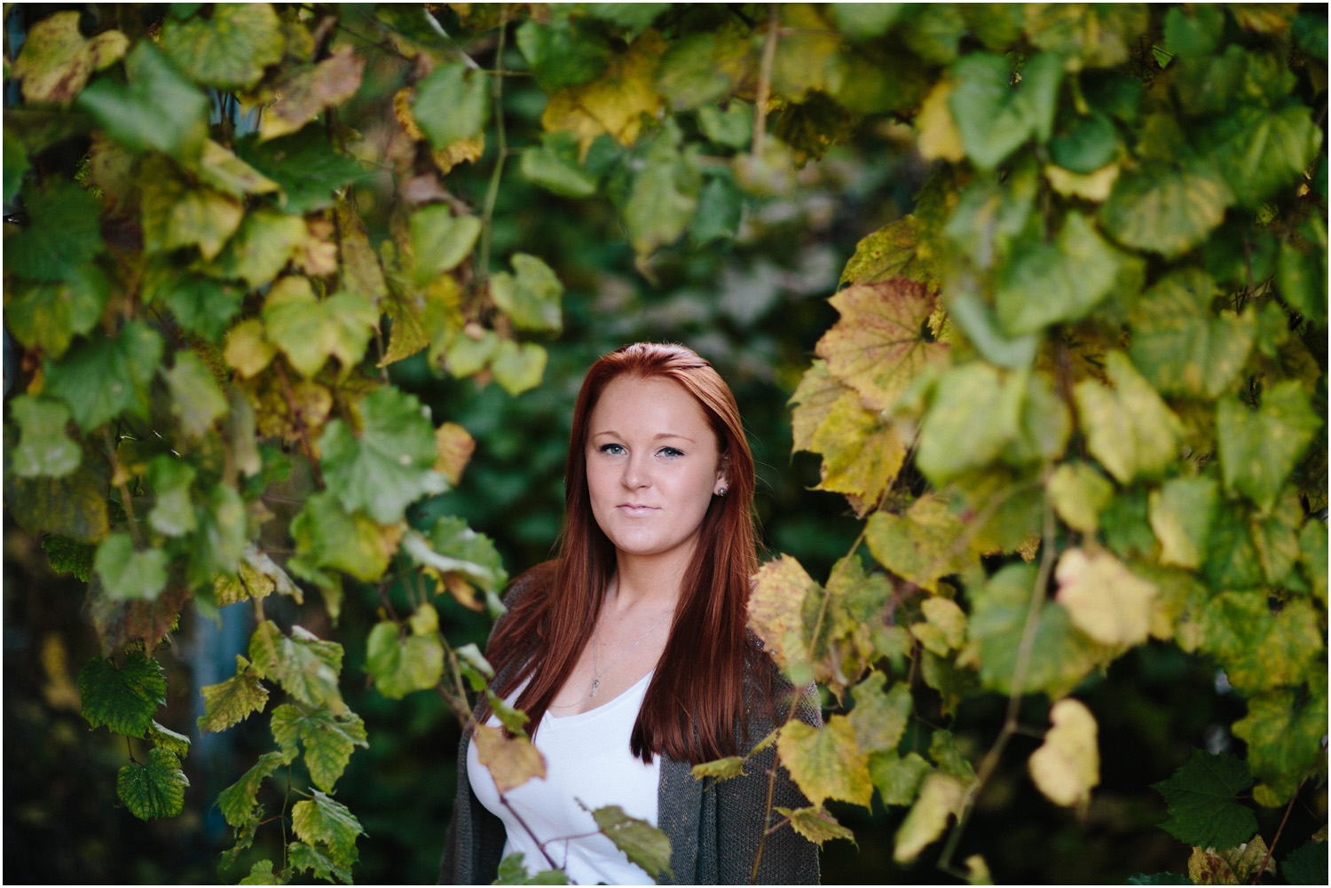 Awesome Senior Portraits in Cleveland - beautiful redhead