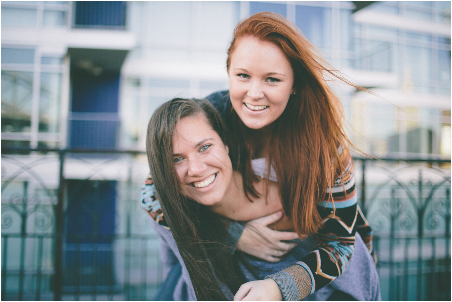 Such cute sisters! - Awesome Senior Portraits in Cleveland