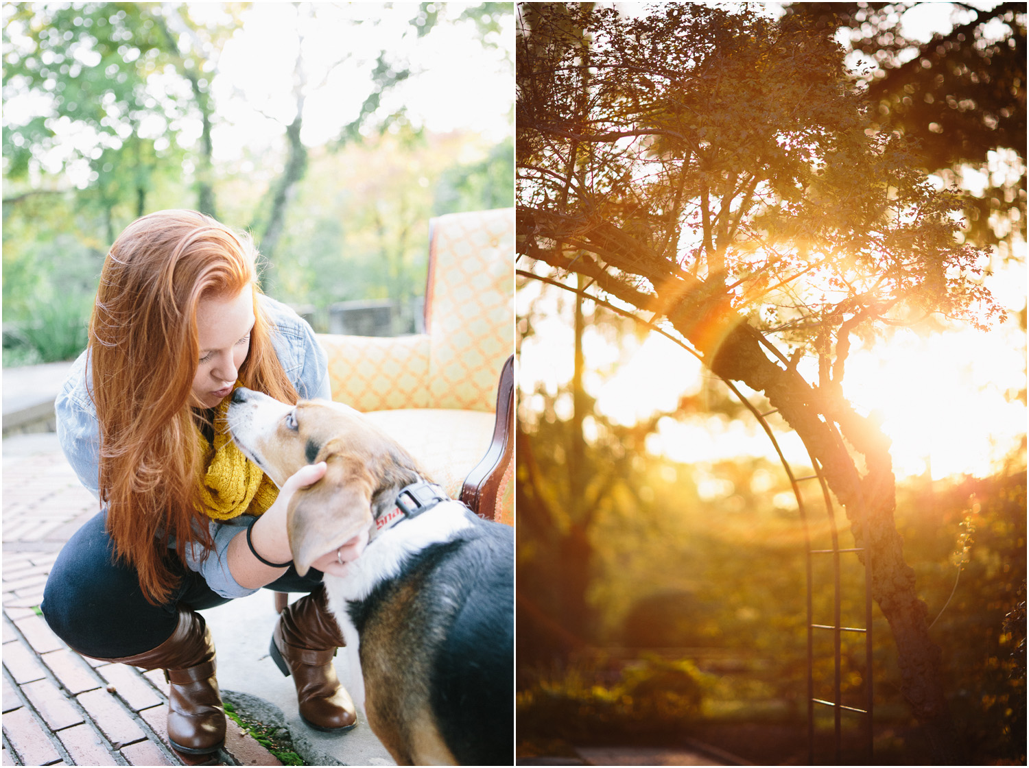 Such a sweet dog - Awesome Senior Portraits in Cleveland