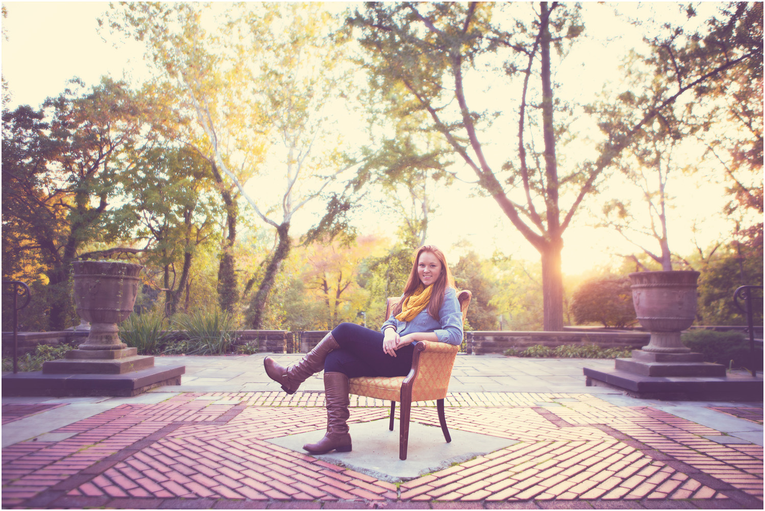 EPIC! - Awesome Senior Portraits in Cleveland