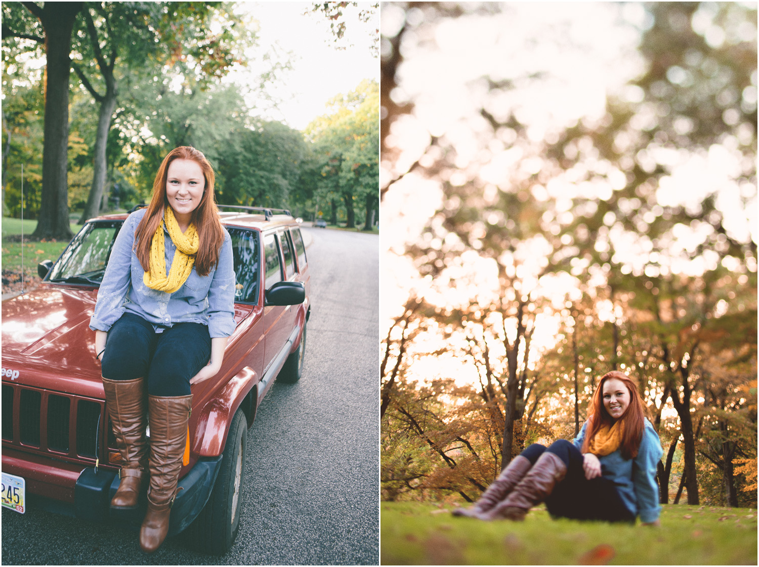 Beautiful autumn photos! - Senior Portraits in Cleveland