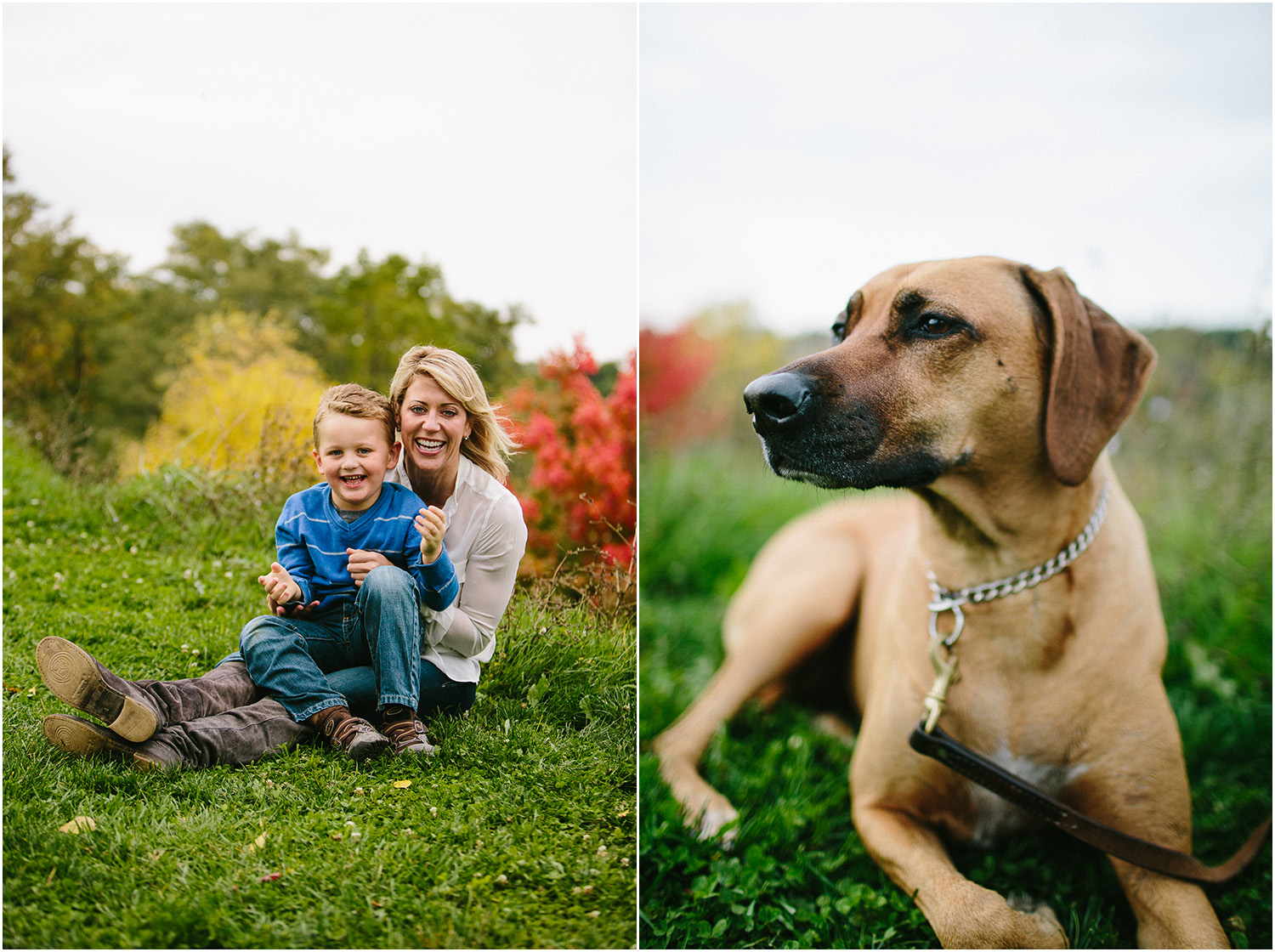 Such a cute family! Family Portraits in Cleveland at Rocky River Park