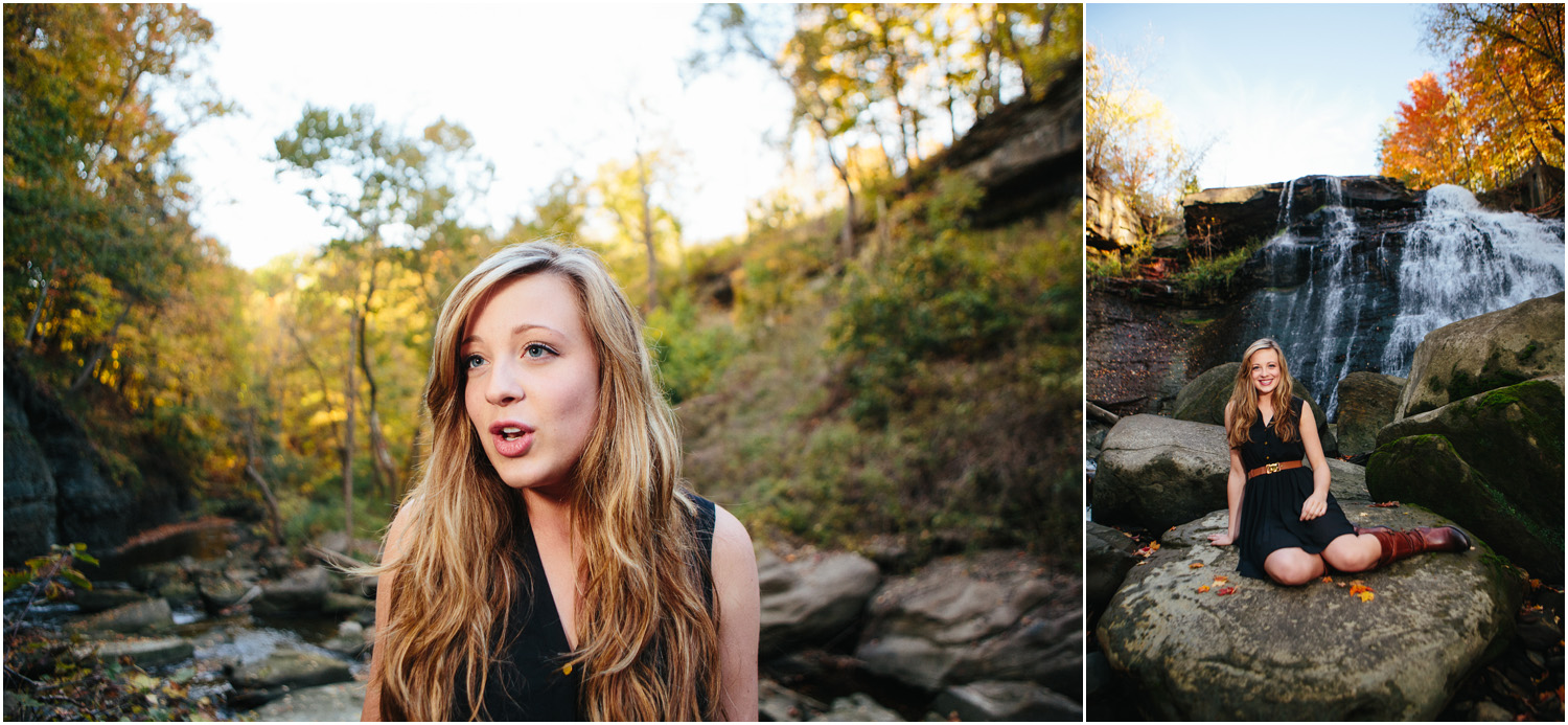 Shelby Searcy singing Realize by Colbie Caillat - Cleveland Senior Portraits