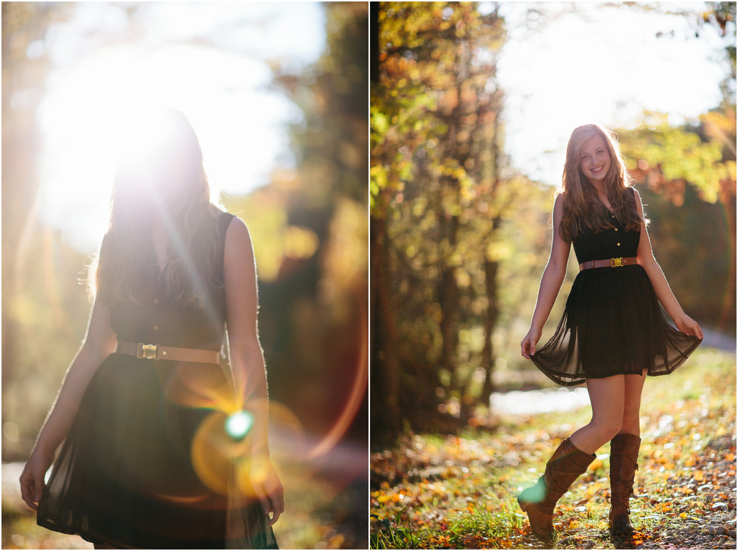 What cool lens flare! - Cleveland Senior Portraits - Shelby Searcy