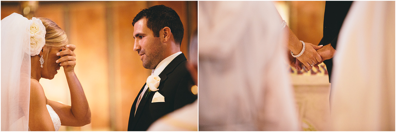 So precious! - Creative Cleveland Wedding Photographer - St. James Church
