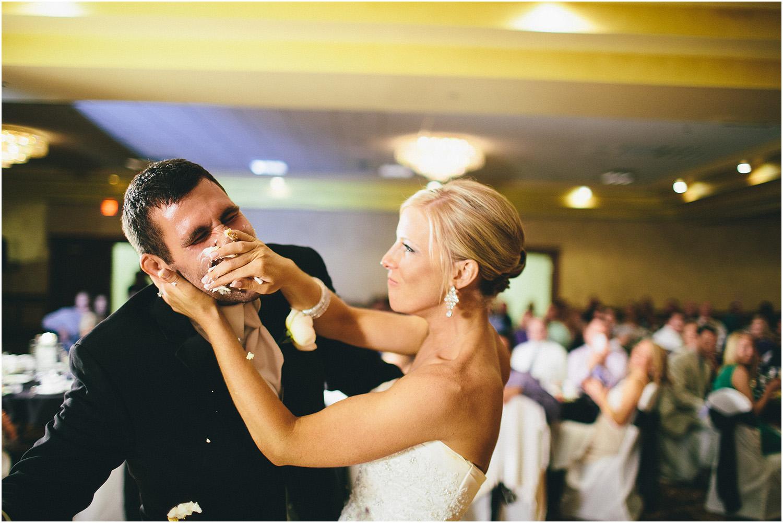 Cake smash payback - Cleveland Wedding Photographer