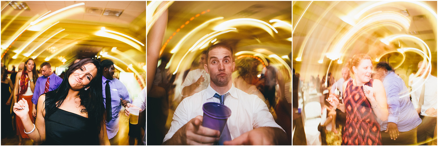 Dance party! - Creative Cleveland Wedding Photographer