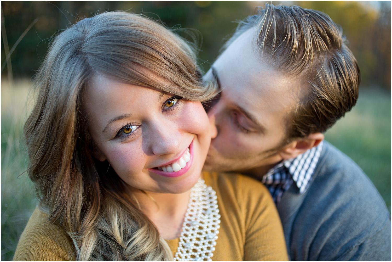 A tender moment - Cleveland Wedding Photographer