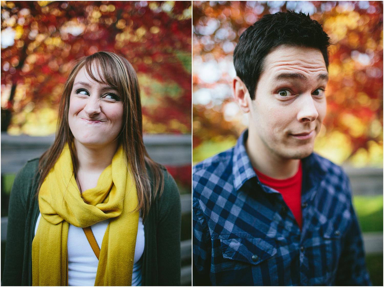 Goofy! Cleveland Engagement Photographer