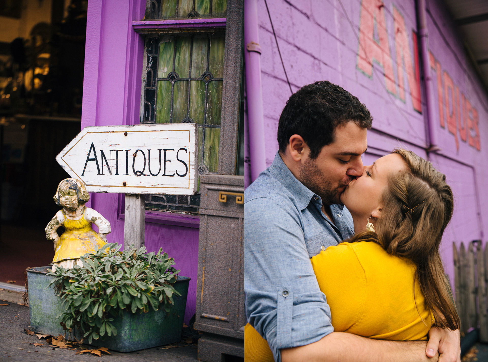 Pittsburgh Engagement Photographer at Thift Shop and Dependable Drive In 01.jpg