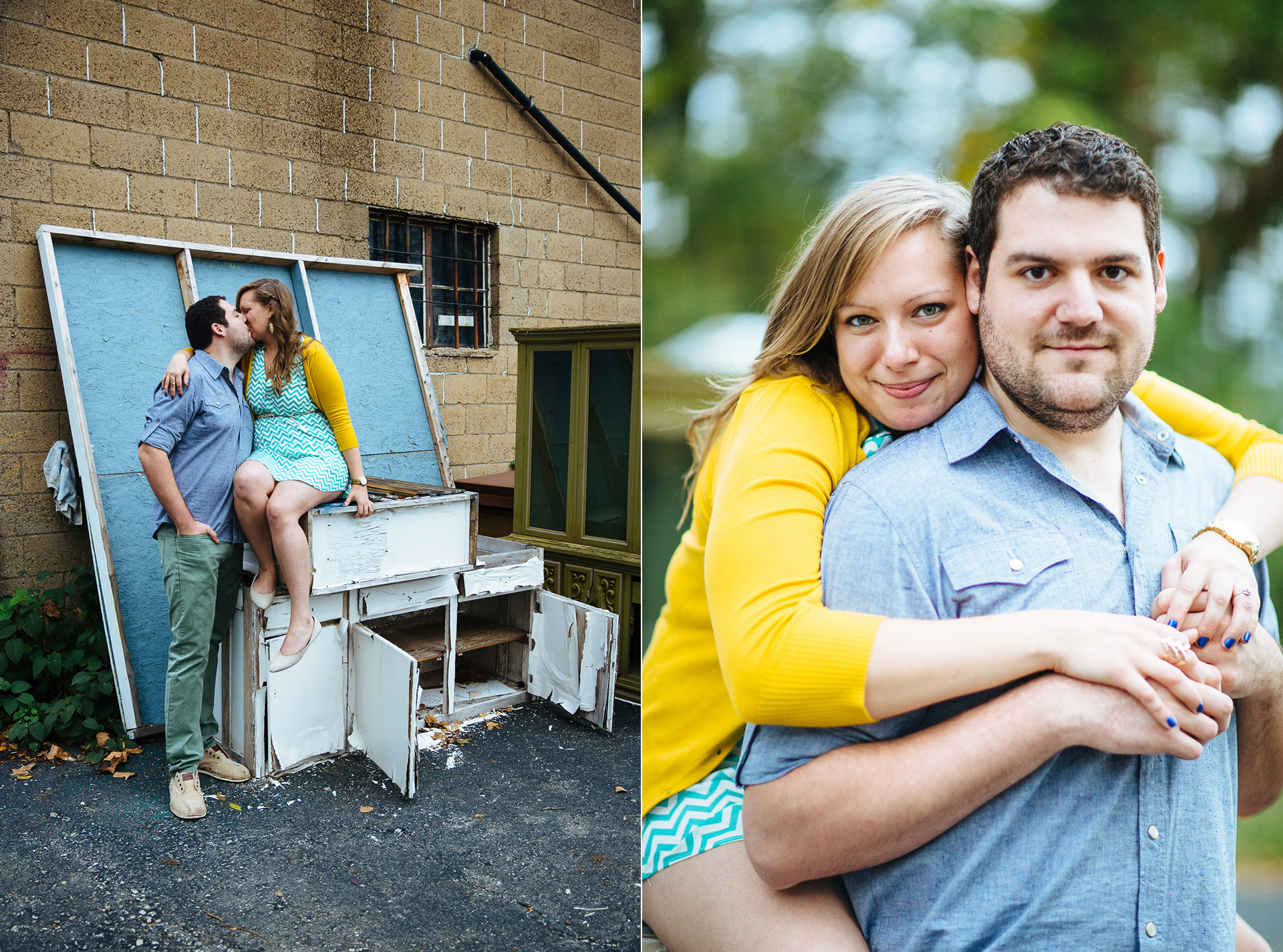 Pittsburgh Engagement Photographer at Thift Shop and Dependable Drive In 13.jpg