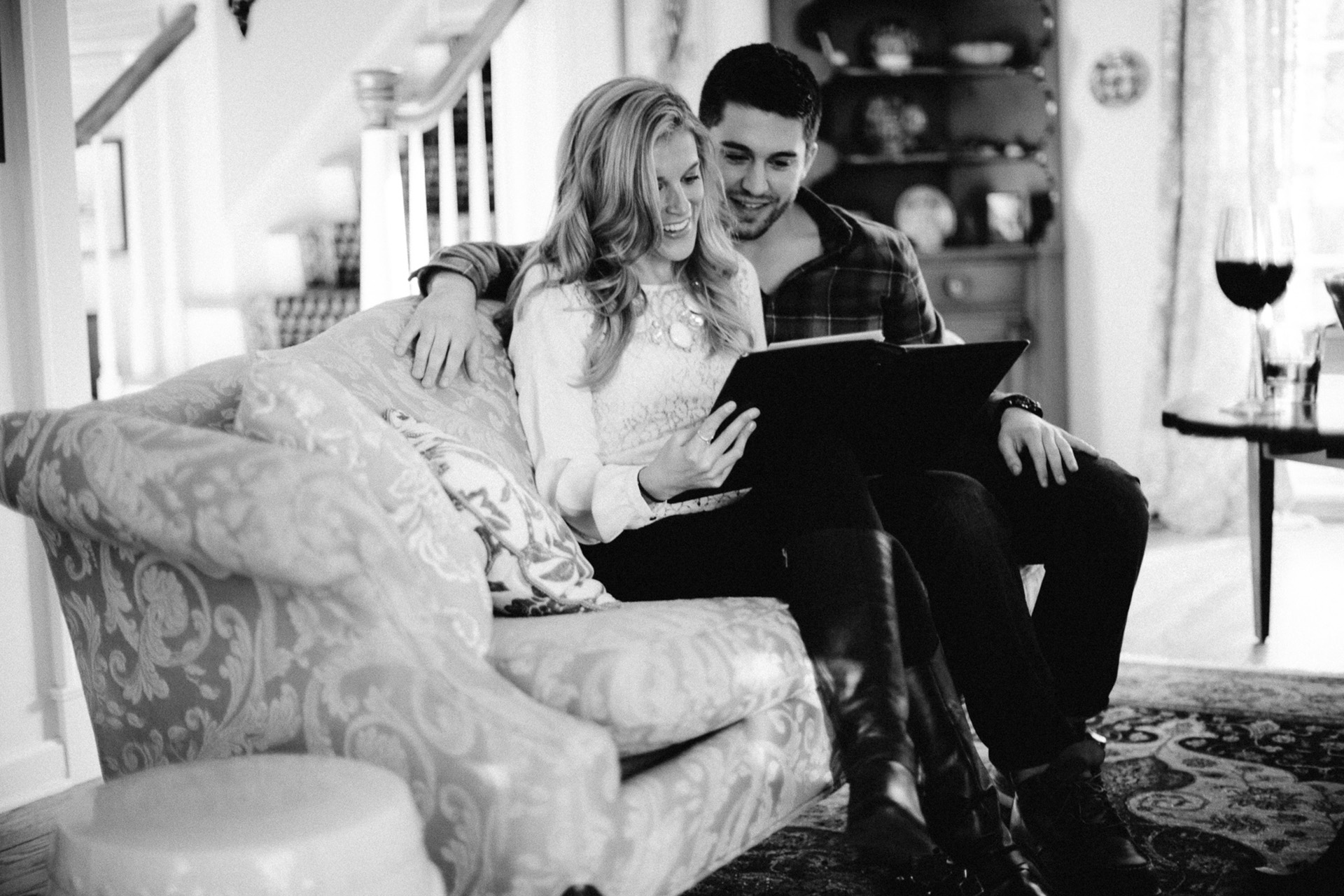 Winter Engagement Session in Bay Village - Too Much Awesomeness - Cleveland Wedding Photographer 04.jpg