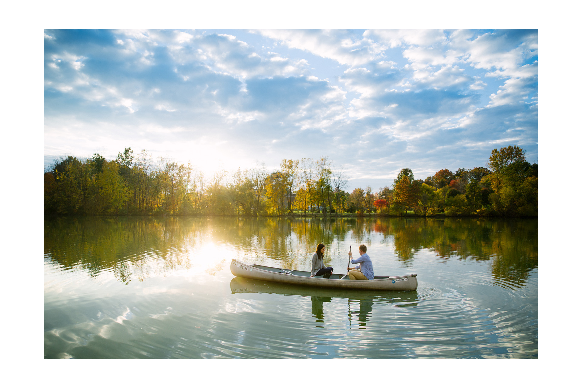 Fall Engagement Session at the Lake in Cleveland 12.jpg