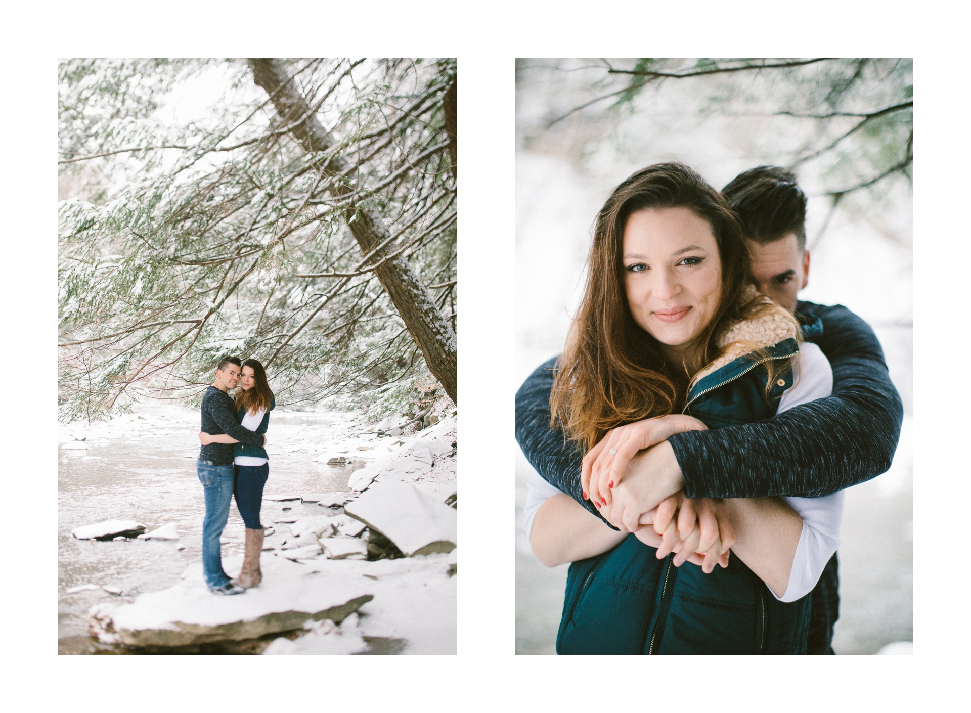 Cleveland Snowy Winter Engagement Session in Chagrin Metroparks 13.jpg