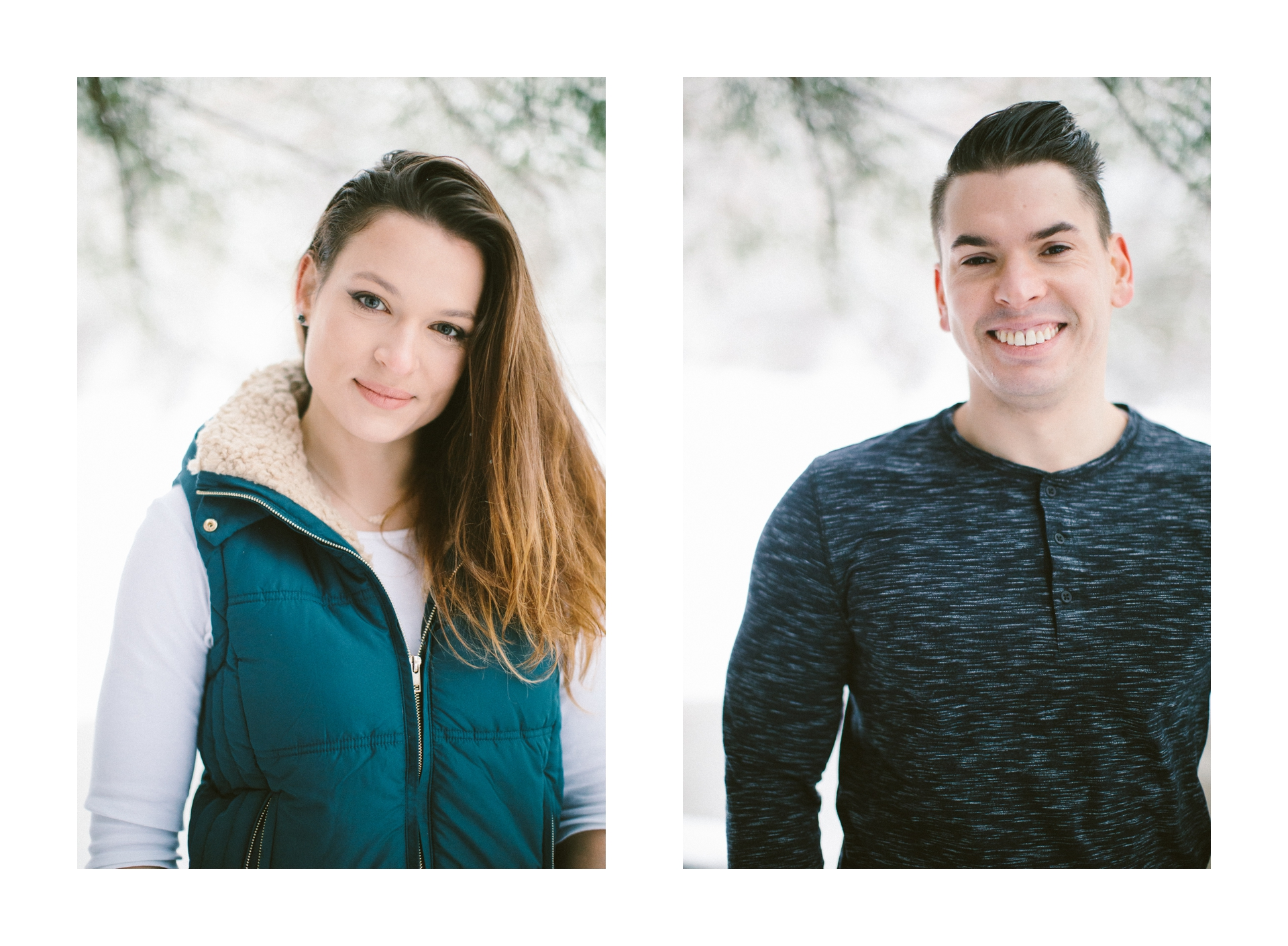 Cleveland Snowy Winter Engagement Session in Chagrin Metroparks 16.jpg