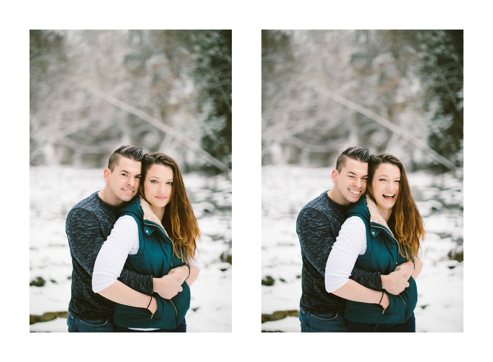 Cleveland Snowy Winter Engagement Session in Chagrin Metroparks 20.jpg