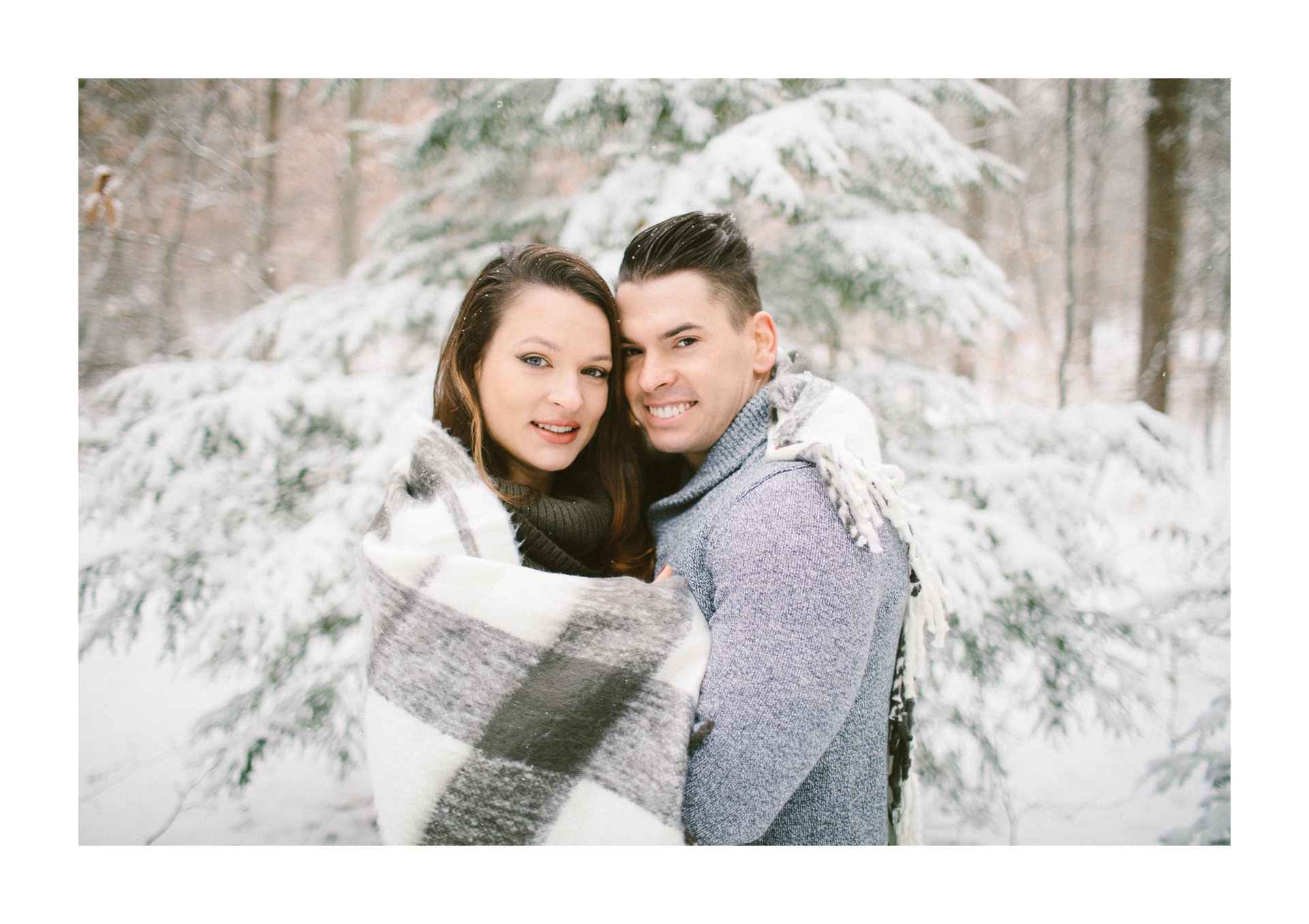 Cleveland Snowy Winter Engagement Session in Chagrin Metroparks 22.jpg