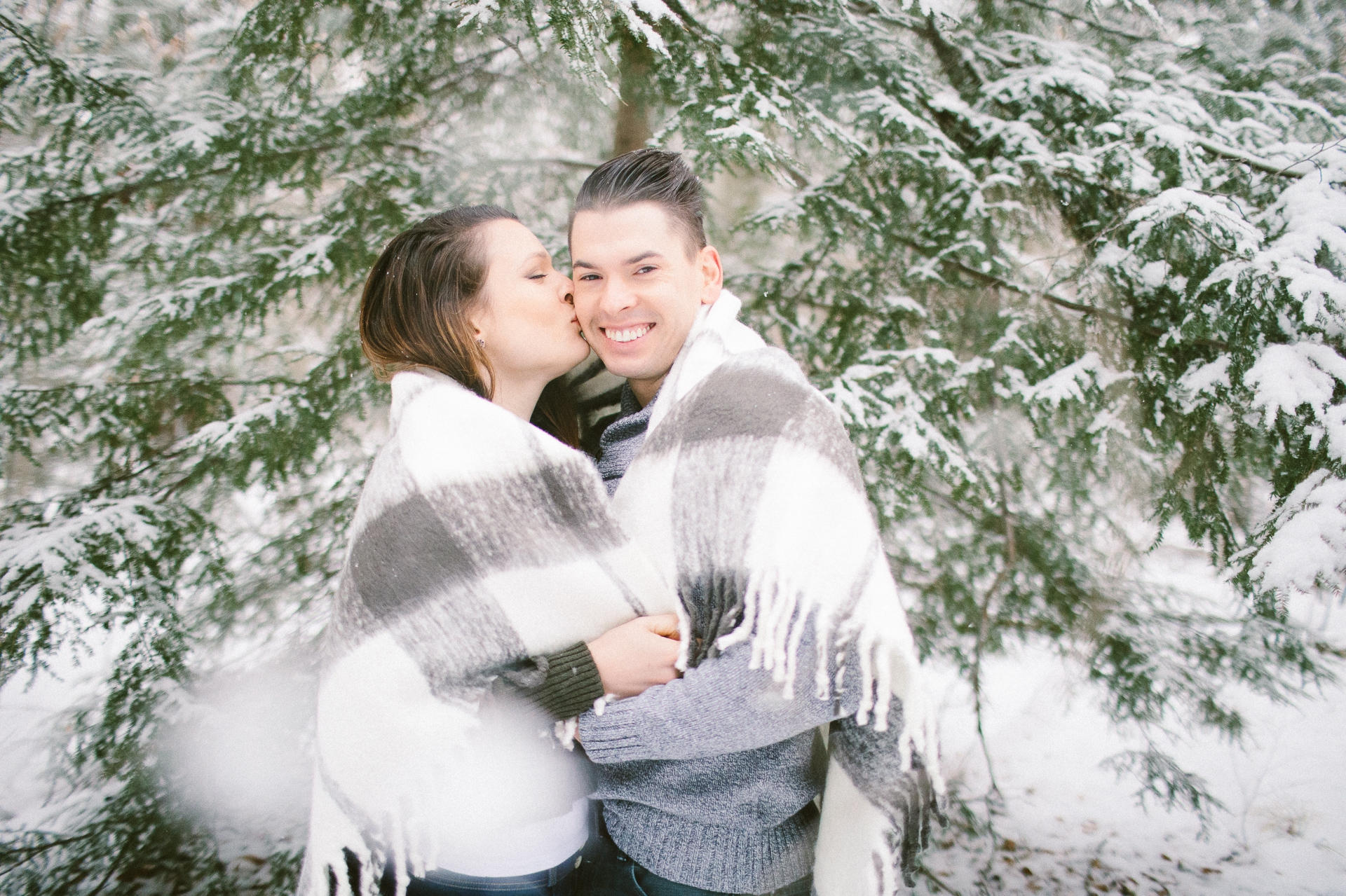 Cleveland Snowy Winter Engagement Session in Chagrin Metroparks 24.jpg