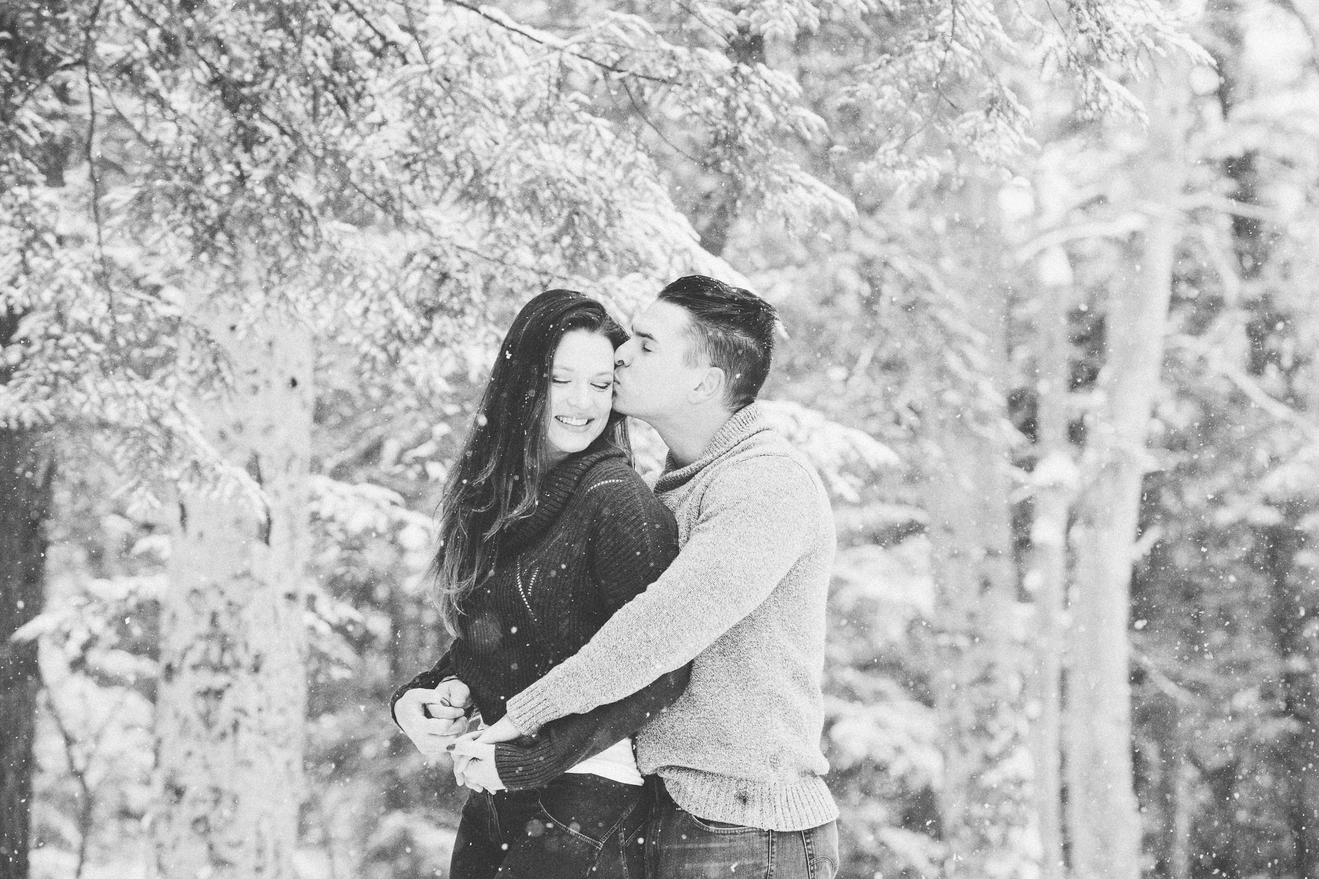Cleveland Snowy Winter Engagement Session in Chagrin Metroparks 32.jpg