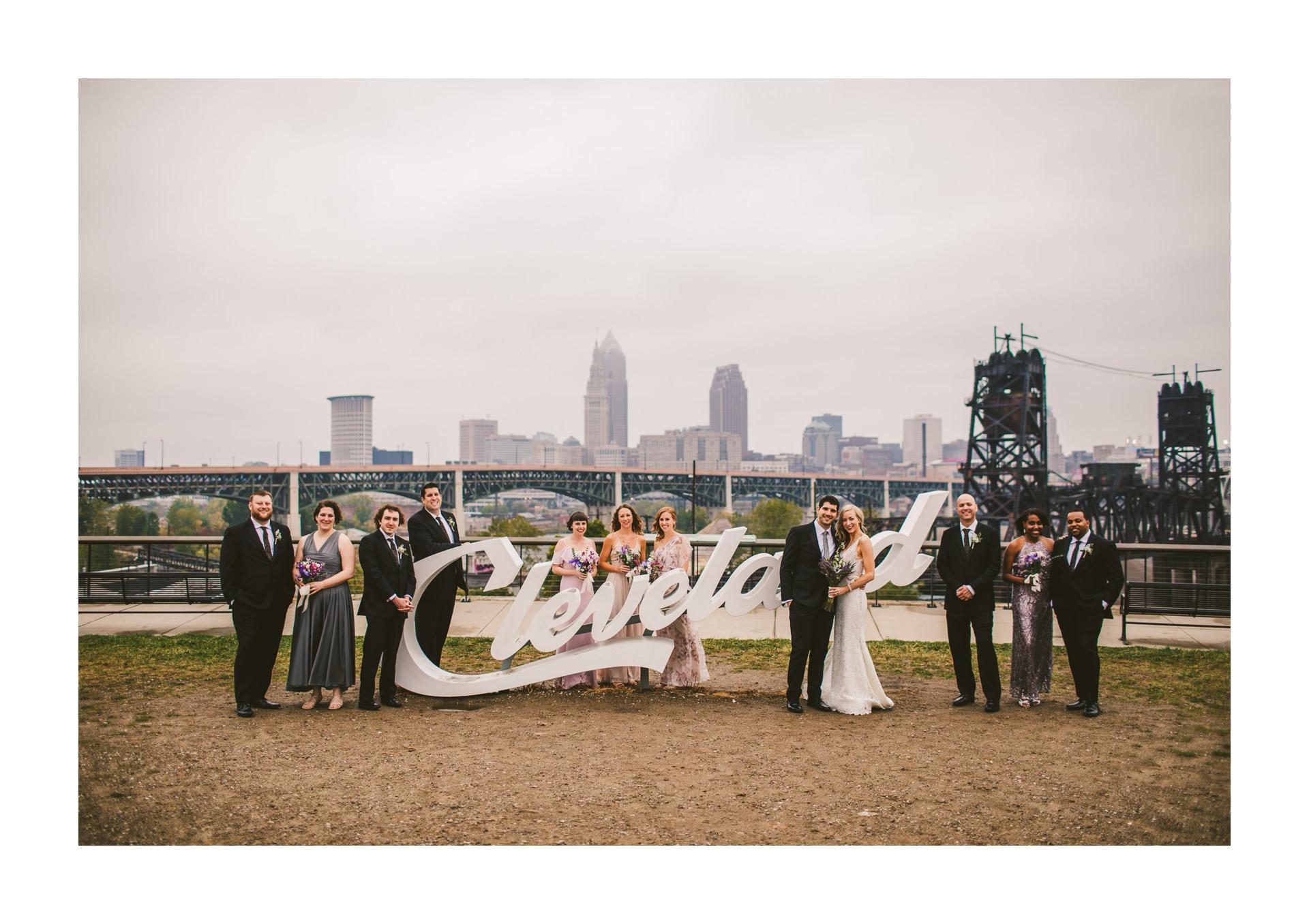 Aloft Hotel Alley Cat Oyster Bar Wedding in Cleveland 26.jpg