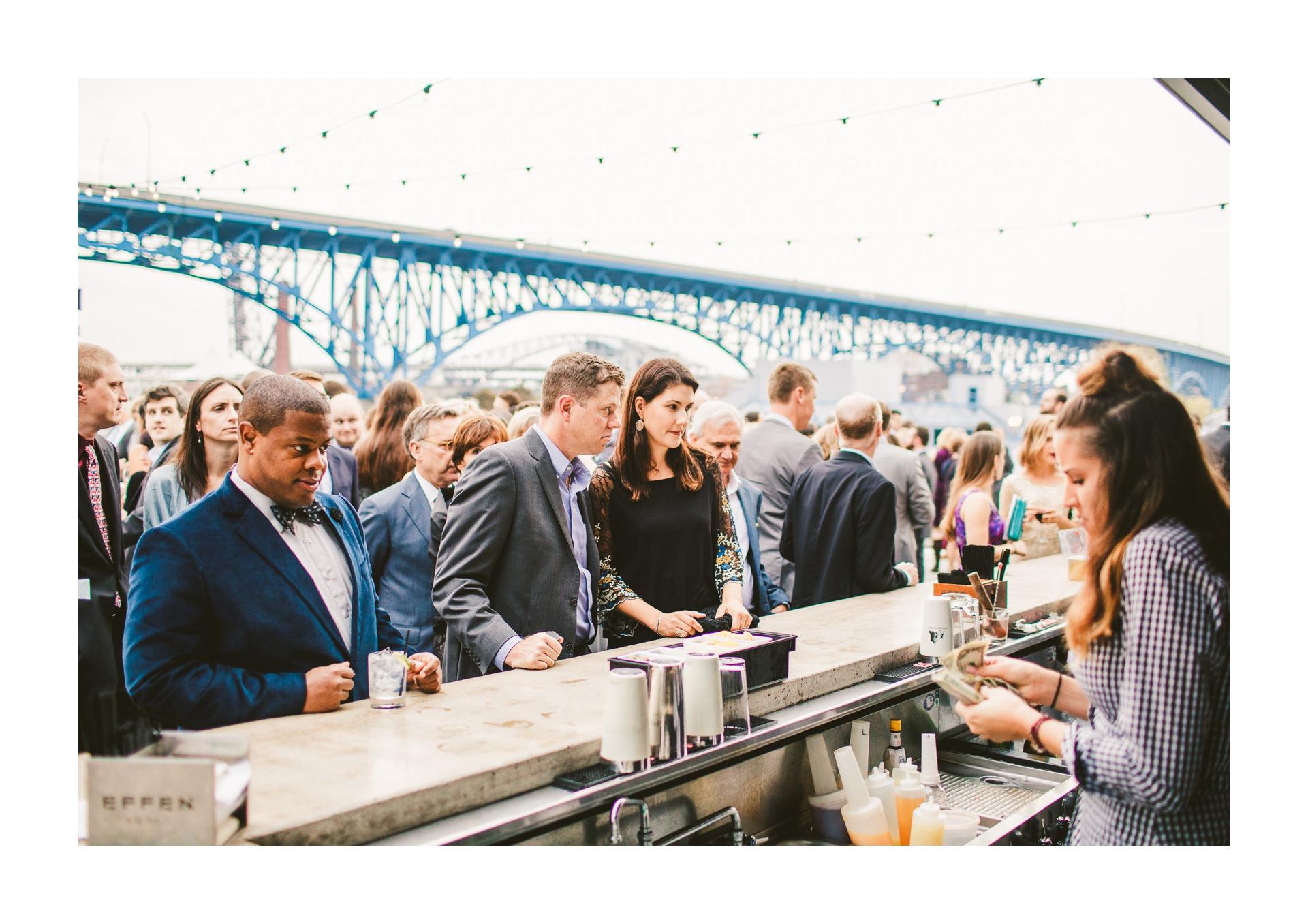 Aloft Hotel Alley Cat Oyster Bar Wedding in Cleveland 52.jpg