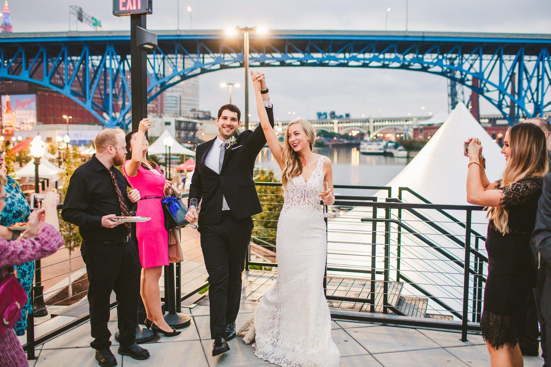 Aloft Hotel Alley Cat Oyster Bar Wedding in Cleveland 55.jpg