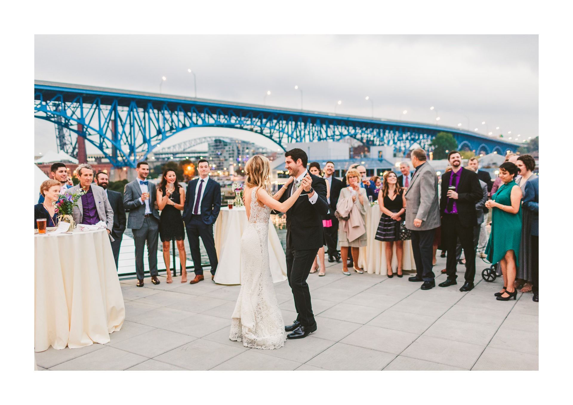Aloft Hotel Alley Cat Oyster Bar Wedding in Cleveland 58.jpg