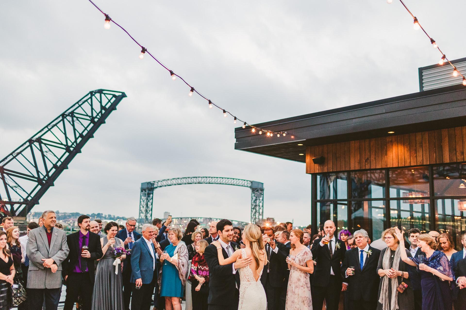 Aloft Hotel Alley Cat Oyster Bar Wedding in Cleveland 61.jpg