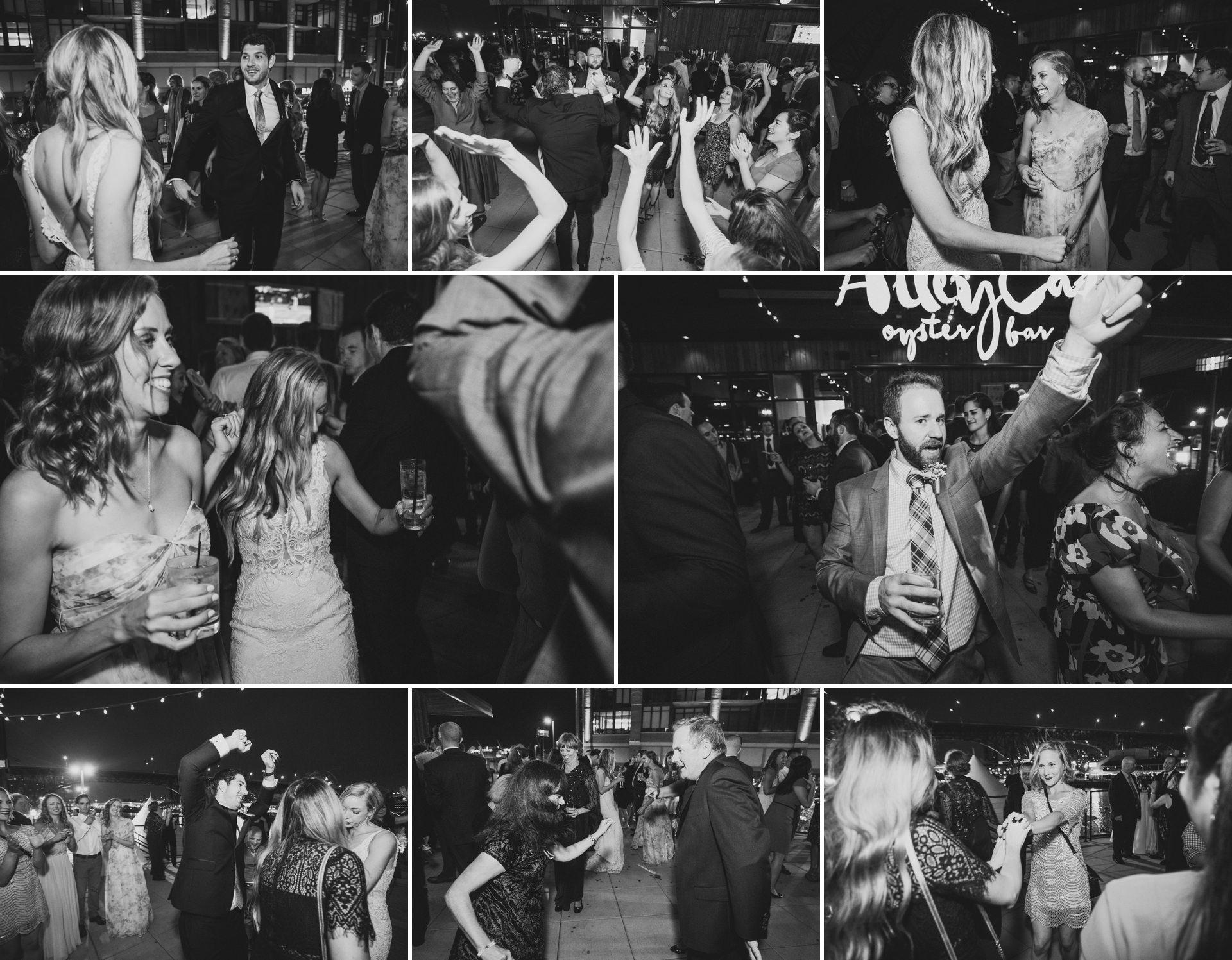 Aloft Hotel Alley Cat Oyster Bar Wedding in Cleveland 80.jpg