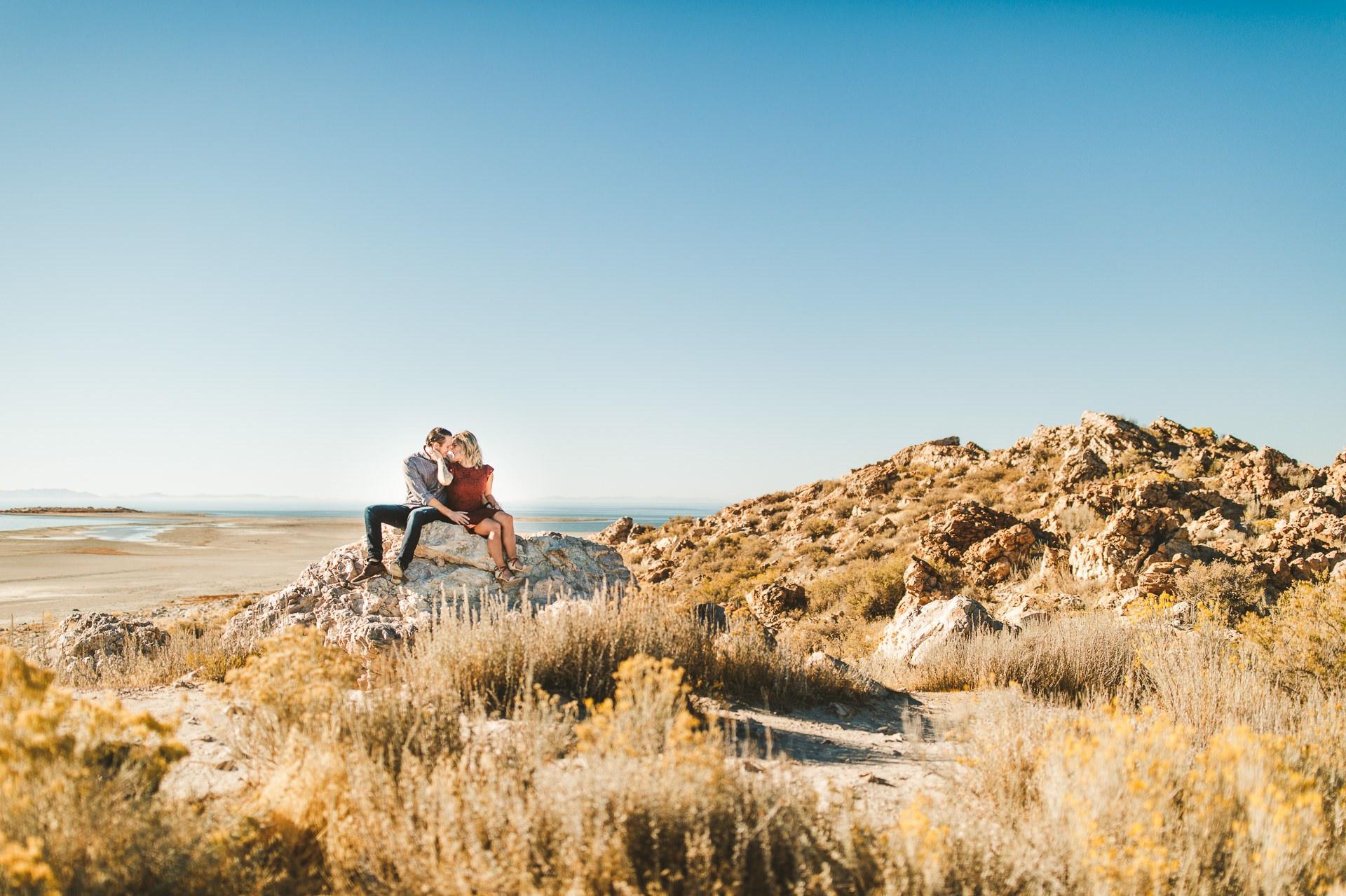 Antelope Island Salt Lake City Utah Engagement Photographer 15.jpg