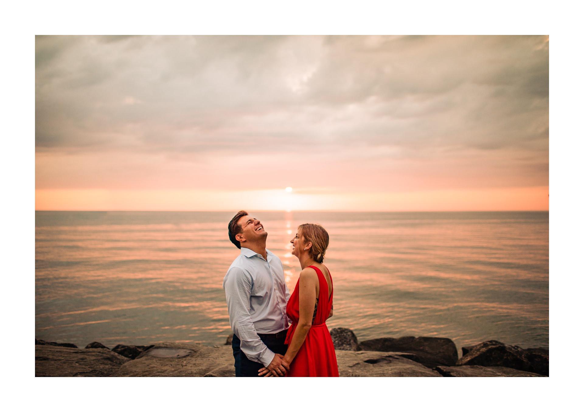Edgewater Beach Engagement Photos in Cleveland 23.jpg