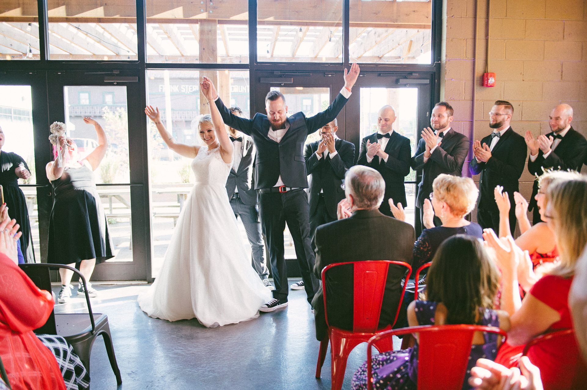 Goldhorn Brewery Wedding Photos in Cleveland 2 18.jpg