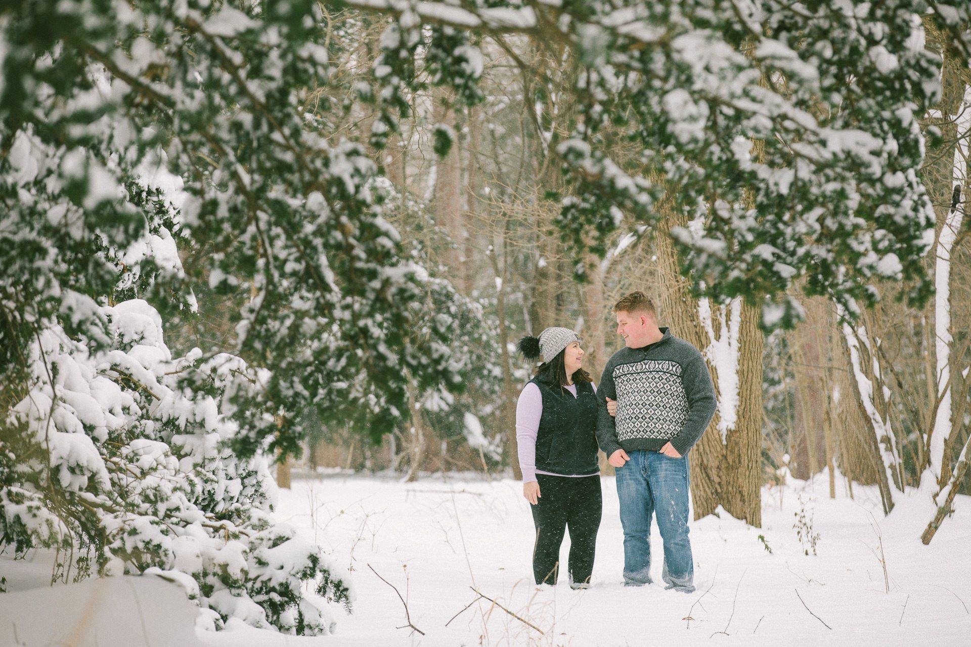 Winter Engagement Photos in Cleveland Ohio 14.jpg